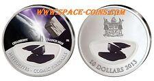 2013 Fiji Meteoriten Münze, CHASSIGNY - 999 Stück! $10 Silber, Cosmic Fireballs