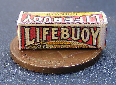 Maison de poupées miniature LIFEBUOY SOAP BOX