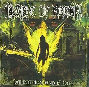 Cradle-of-Filth-Damnation-amp-a-Day-New-CD-Holland-Import