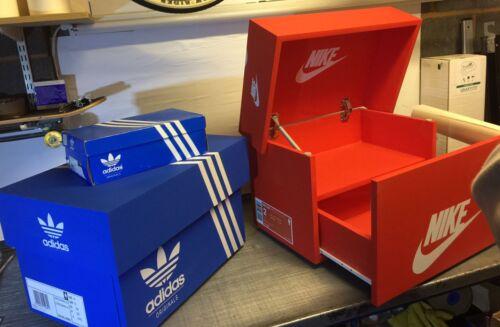 Vinyle Autocollants kit pour Giant Formateur Sneaker Boîte de rangement Inc Personalised label