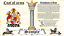 thumbnail 2 - Sacheville-Sakvile COAT OF ARMS HERALDRY BLAZONRY PRINT