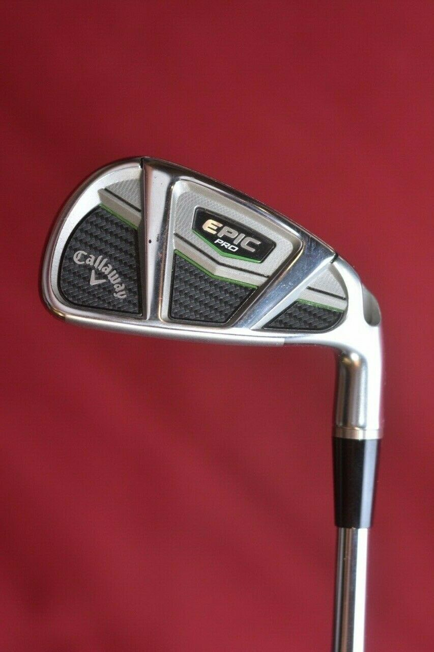 Callaway Epic Pro 7 Hierro Dynamic oro Tour Issue 120 S400 rígido 2up Demo de menta