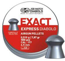 JSB Exact Express.177 4,52 MATCH DIABOLO PELLETS campo target HFT exacts