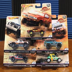 Desert-Rally-Complete-Set-of-5-Hot-Wheels-Premium-Car-Culture-2019