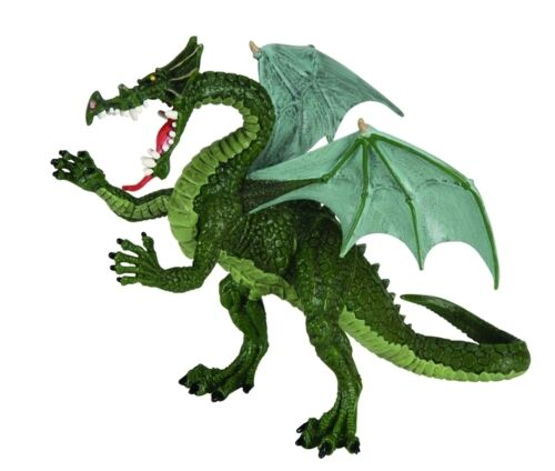 Le Grand Dragon Vert 18 cm Série Dragon Plastoy 60445