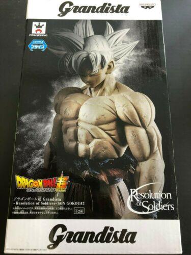 Dragon Ball Grandista Resolution of Soldiers SON GOKOU #3 Goku Color Figure Doll