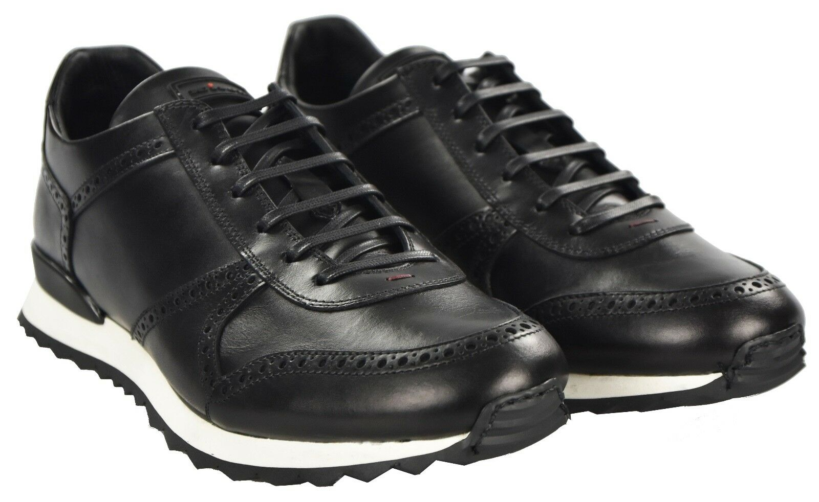 NEW KITON SHOES SNEAKERS 100% LEATHER SIZE 9 US 42 KSCW4