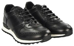 Sneakers Us 9 42 Leather Shoes 18kscw4 Eu Nuevo Tamaño Kiton 100 FZw77q
