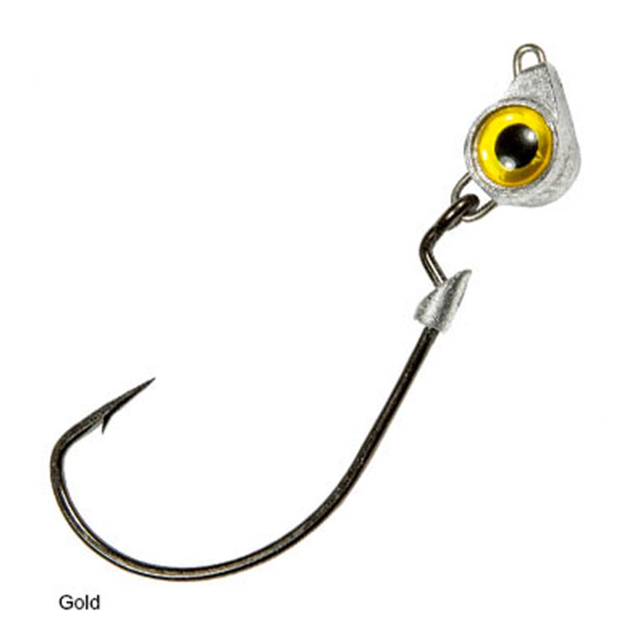 Z-man TXJH18-01PK3 Texas Eye Red 1//8oz Fishing Jig Head Freshwater Lure 3pk