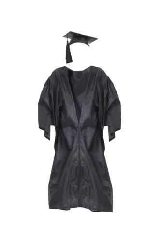 Costume BA Laurea Abito Mortarboard Cappello Adulti Bambini Scuola Elementare