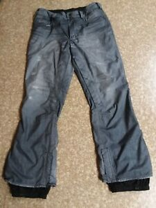 Burton-denim-snowboard-pants-039-the-jeans-039-Gore-tex-Size-large