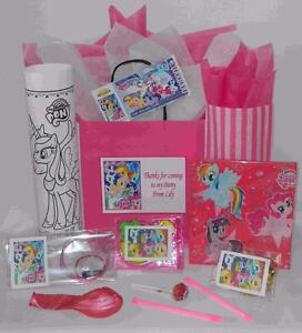Image Is Loading My Little Pony Pre Filled Party Bag Personalised