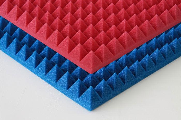 Akustik Pyramiden Profil Noppen Schaumstoff Absorber Schallschutz Antidröhn