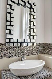 New Large Modern Z Gallerie Style Venetian Wall Vanity