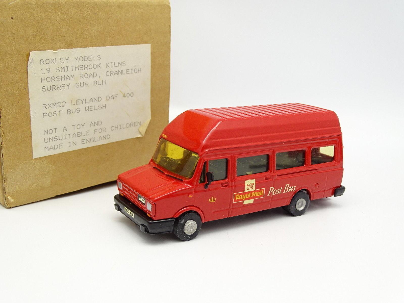 Roxley Models 1 48 - Leyland Daf 400 Post Bus Royal Mail