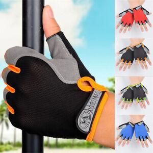 Fahrradhandschuhe-Gel-Fahrrad-Radsport-Bike-MTB-Handschuhe-Gelpolsterung-M-XL