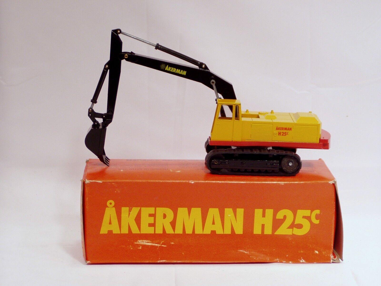 Akerman H25c Excavator - 1/50 - NZG #148 - MIB