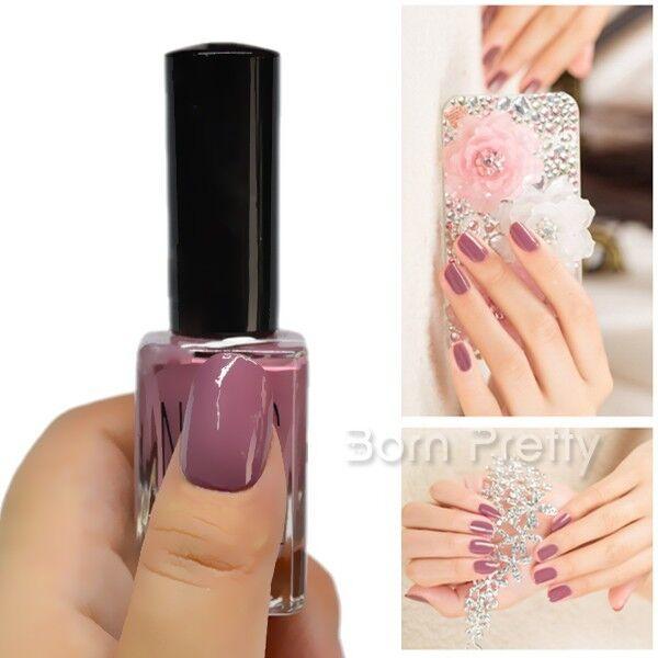 Women Nade Color Nail Polish Nail Art Top Coat Varnish Soak Off -15ML