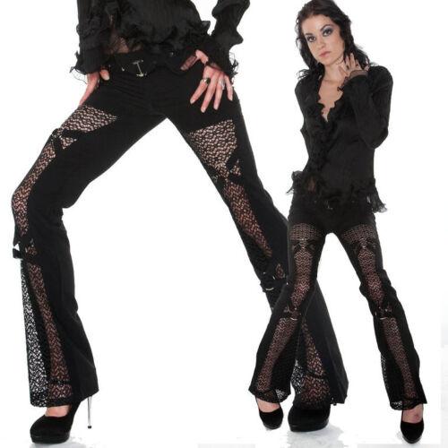 hotter Gothic Style Spitze Metal Ringe Marke TOMLINE 34-46 gothik schwarze Hose