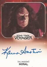 "Star Trek Aliens - Karen Austin ""Miral"" Auto/Autograph Card"