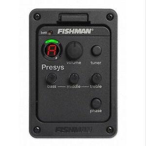 Fishman-Presys-101-Classic-Acoustic-Guitar-Preamp-EQ-Pickups-Tuner-Piezo-New
