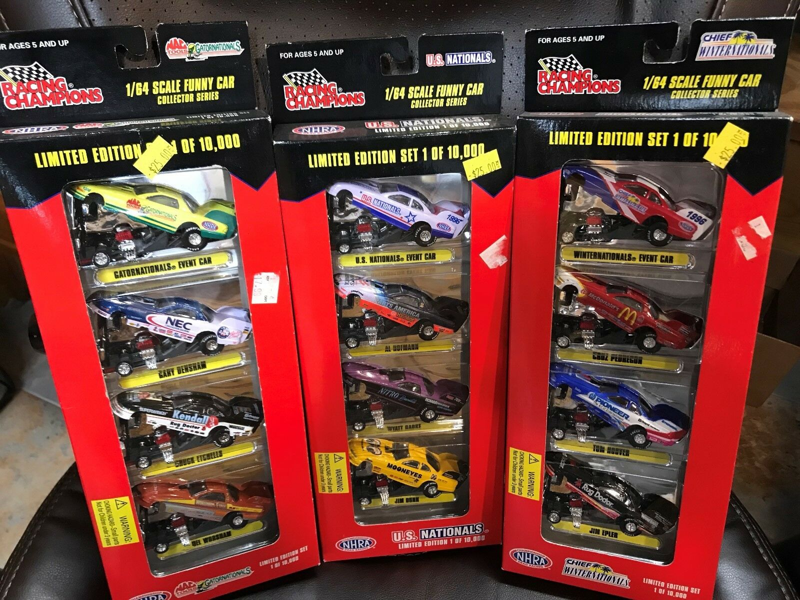 Limited Edition Racing Collectibles by Racing Champions NEW