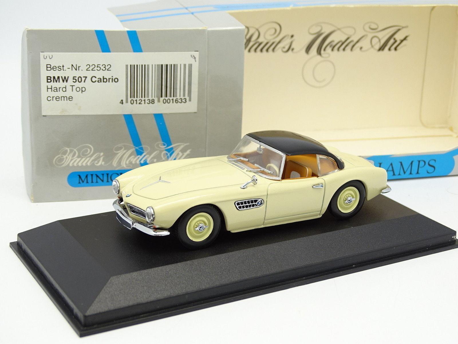 Minichamps 1 43 - BMW 507 Cabrio Hard Top Crème