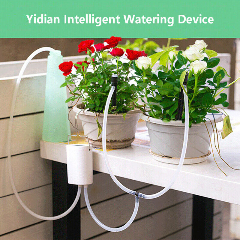 8/4 Head Pump Timer System Indoor Automatic Watering Pump Controller Irrigation