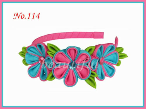 50 BLESSING Good Girl Boutique Headband 6 Inch Sika Bows 164 No.