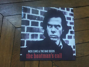 NICK CAVE &  & THE BAD SEEDS The boatman's call LP avec insert