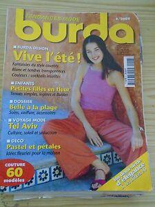 MAGAZINE-BURDA-FANTAISIES-DU-STYLE-COUNTRY-VIVE-L-039-ETE-JUIN-2000
