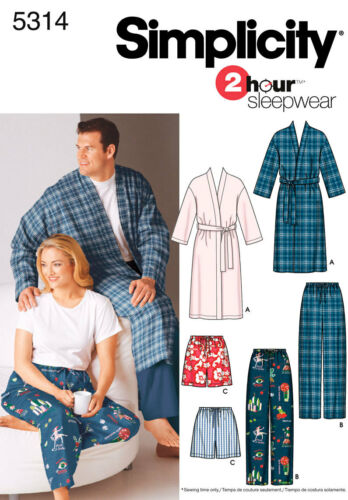 Simplicity Sewing Patterns PJs//Sleepwear NEW PATTERNS ADDED