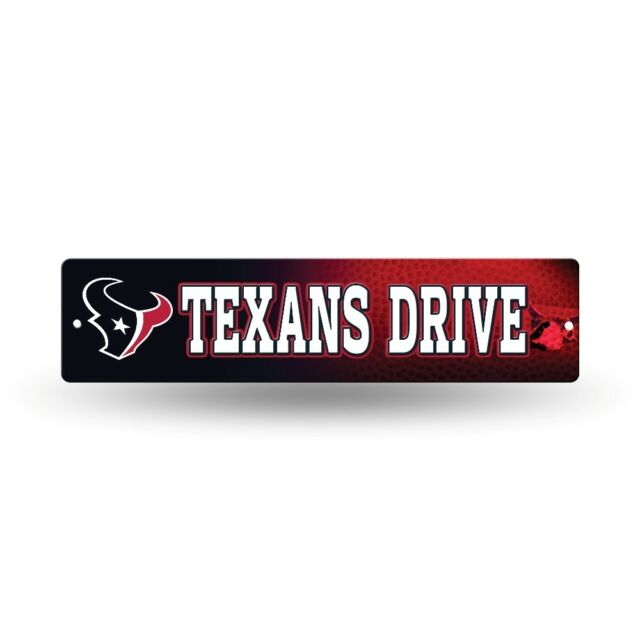 Houston Texans Nfl Football 16 Street Sign Fan Wall Decor Ebay