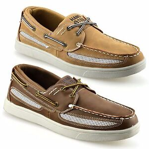 Mens-New-Casual-Lace-Up-Boat-Deck-Mocassin-Designer-Loafers-Driving-Shoes-Size