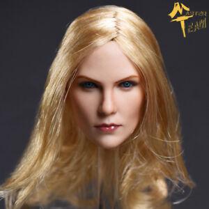 1-6-Female-Blonde-Hair-Charlize-Theron-Head-Sculpt-F-12-034-TBLeague-Figure-Model