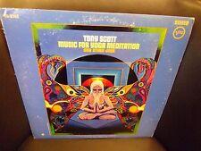 Tony Scott Music For Yoga Meditation and Other vinyl LP 1972 Verve Records VG+