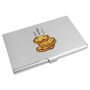 'Warm Cookies' Business Card Holder / Credit Card Wallet (CH00020683)