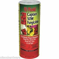 12 Pack Hi-yield 12 Oz 50w Captan Fruit Tree Fungicide Wetable Powder 32109