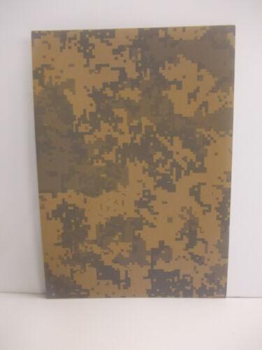 2 mm A4 KYDEX T Sheet 297 mm x 210 mm Desert Digital Camouflage,Holsters Sheaths