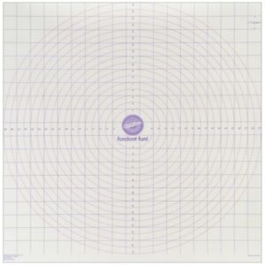 Wilton Roll And Cut Mat Fondant Dough Measured Grid