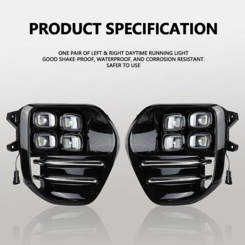 1 Paar LED Lichter Tagfahrlicht DRL Nebelscheinwerfer für Kia Sportage QL 16-18