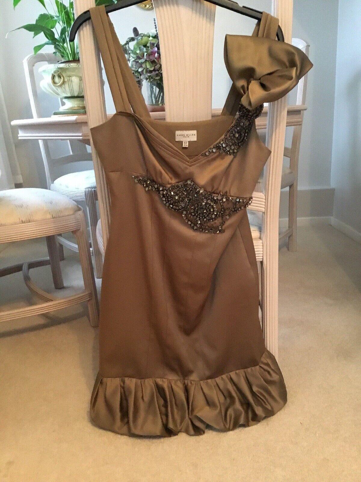 Karen Millen Satin Dress, Size 12