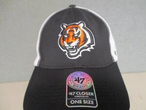 New-Cincinnati-Bengals-Mens-Adult-Size-OSFA-039-47-Brand-Stretch-Fit-Cap-Hat-28
