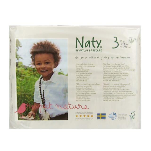 3 Windeln 4-9 kg 30 Stk. KS Naty by Nature Babycare Gr