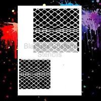 Snake Skin 01 Airbrush Stencil,Template
