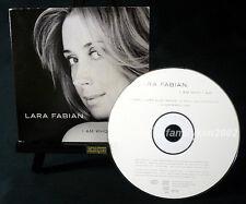 Austria RARE 3-track Remixes CD MINT! Lara Fabian I AM WHO I AM