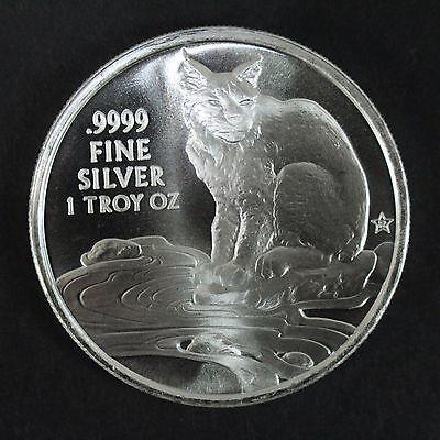 2016 Texas Silver Round with Coyote Reverse 1 troy oz, .9999 fine, BU
