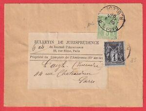 N-107-83-PARIS-R-BLEUE-ETIQUETTE-IMPRIME-TARIF-A-6C-LETTRE-COVER