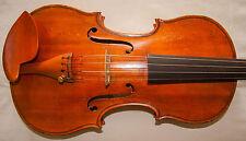 Brillante violín antiguo viejo laboratorio. Carlo bisiach di Leandro 1928 - 30 día regreso