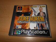 DUKE NUKEM LAND OF THE BABES PS1 MINT COLLECTORS  PAL